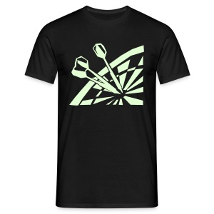 Glow in the dark - Mannen T-shirt