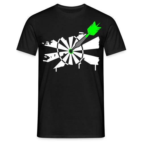 Mannen T-shirt - Dart T-shirt