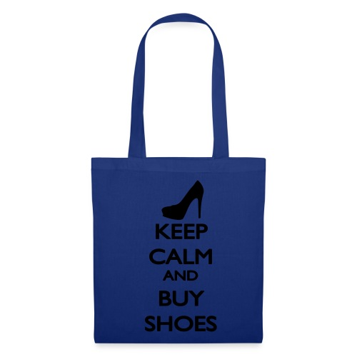 Tote bag Keep Calm And Buy Shoes - Tote Bag