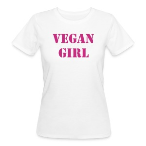 vegan girl - T-shirt ecologica da donna