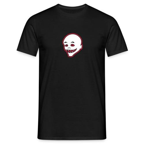 Vintage Retro Comic Zombie Halloween Skull Punk - Männer T-Shirt