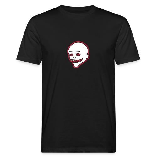 Vintage Retro Comic Zombie Halloween Skull Punk - Männer Bio-T-Shirt