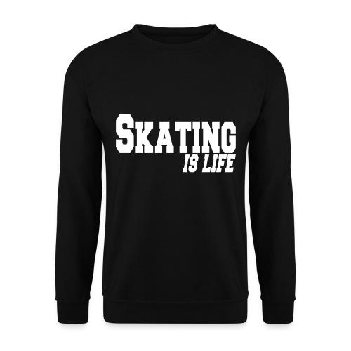 Sweatshirt - Skating is life - Herre sweater