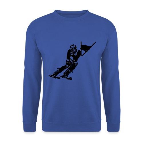 Skieur de descente - Sweat-shirt Homme