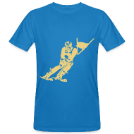 Tee shirts ~ Tee shirt bio Homme ~ Skieur de descente