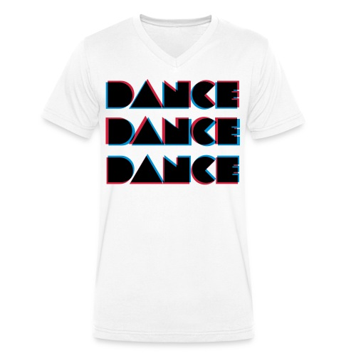 Dance by Dead Kemrit - Männer Bio-T-Shirt mit V-Ausschnitt von Stanley & Stella