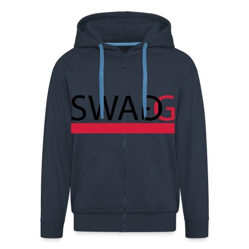 'SWAG' Hoody  - Men's Premium Hooded Jacket