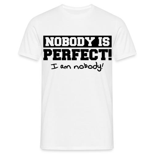 Mr. Nobody - Männer T-Shirt