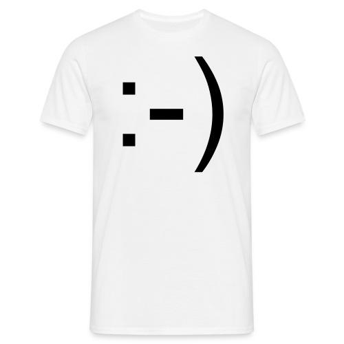 Smile - Mannen T-shirt