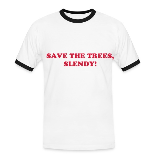 SAVE THE TREES Shirt - Men's Ringer Shirt