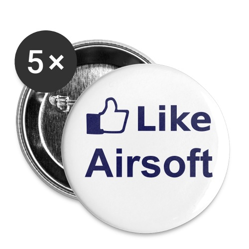 Pins I Like Airsoft - Badge petit 25 mm