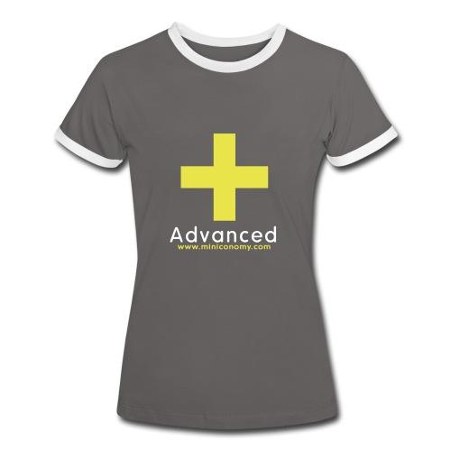 Miniconomy Advanced (Contrast) - Women's Ringer T-Shirt