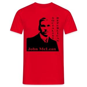 McLean Socialist Republican - Men's T-Shirt