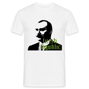 James Connolly Irish Republic - Men's T-Shirt
