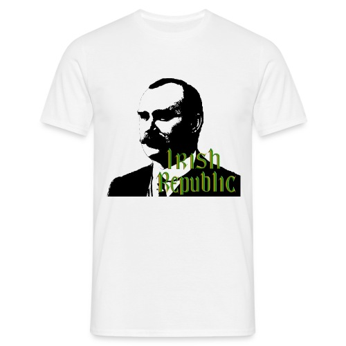 James Connolly Irish Republic - Men's T-Shirt