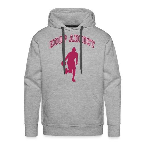 basket felpa - Felpa con cappuccio premium da uomo