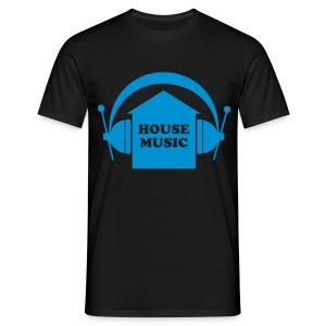 HOUSE MUSIC - Männer T-Shirt