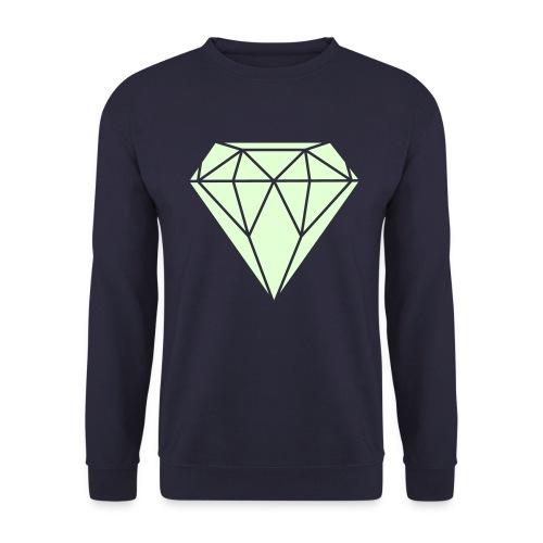DIAMOND GLOW IN THE DARK crewneck boys/girls - Mannen sweater