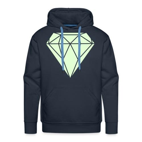 DIAMOND GLOW IN THE DARK sweater boys - Mannen Premium hoodie