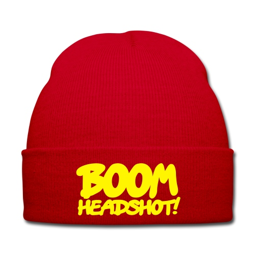 Boom Headshot?  - Wintermütze