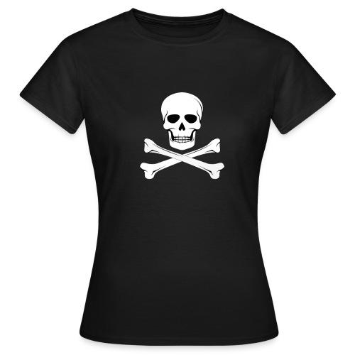 Tête de mort FEMME - T-shirt Femme