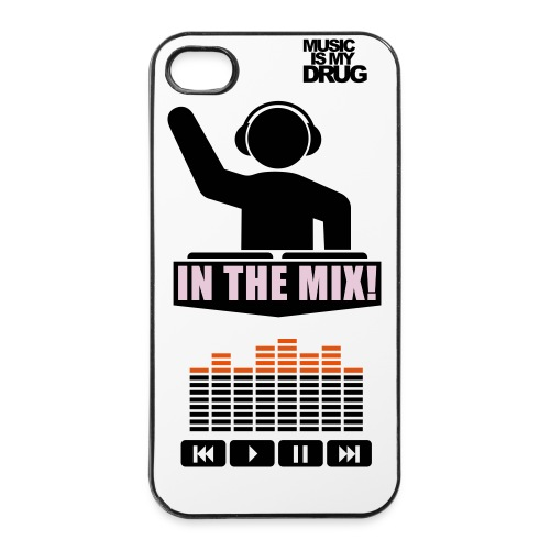 Cover  4 / 4s DJ - Custodia rigida per iPhone 4/4s