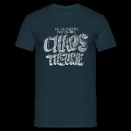 T-Shirts ~ Männer T-Shirt ~ Chaostheorie (weiss)