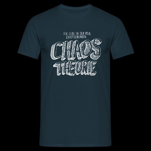Chaostheorie (weiss) - Männer T-Shirt