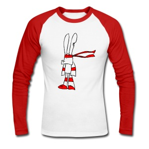 Red Rabbit - Männer Baseballshirt langarm
