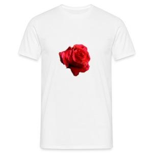 Painted Rose Tee - Men's T-Shirt