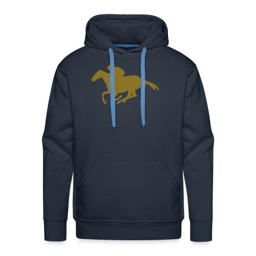 pony junkie - Männer Premium Hoodie