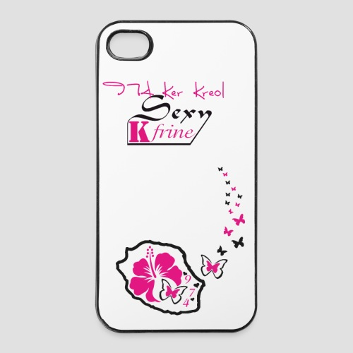 Coque iPhone 4/4S 974 Ker Kreol 2013 - Coque rigide iPhone 4/4s