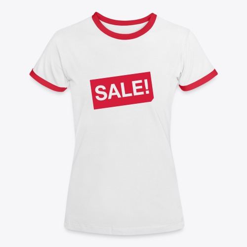 SALE!  - Frauen Kontrast-T-Shirt