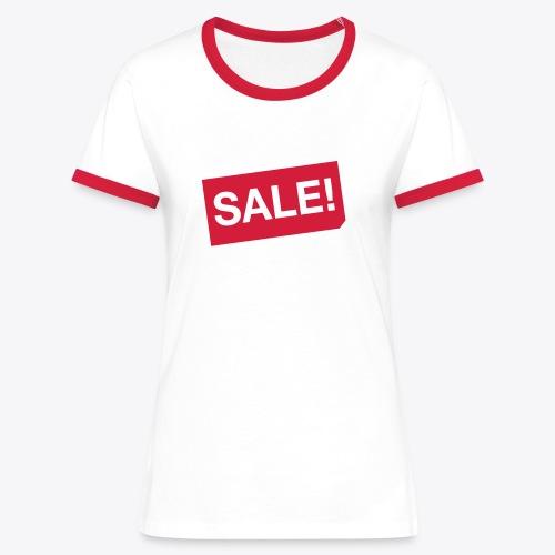 SALE!  - Frauen Kontrast-T-Shirt