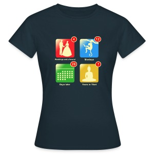 Film apps - Vrouwen T-shirt