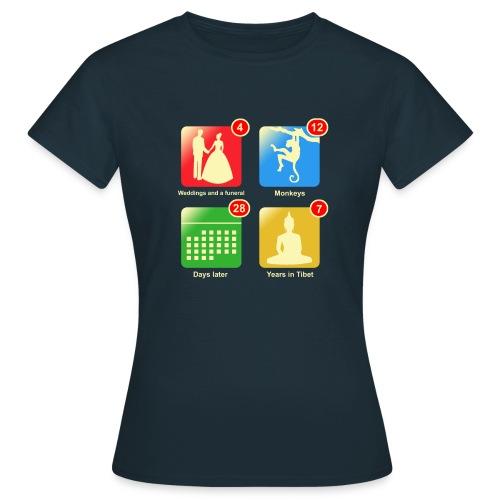 Film apps - Vrouwen T-shirt
