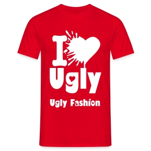 I love Ugly - Ugly Fashion - Men's T-Shirt