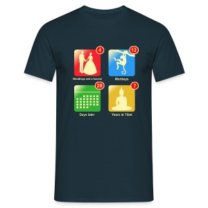 Film apps - Mannen T-shirt