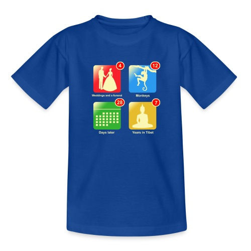 Film apps - Kinderen T-shirt