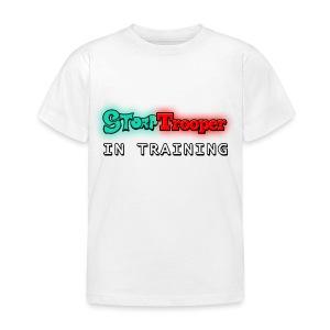 Storp Trooper in training (Kids) - Kids' T-Shirt