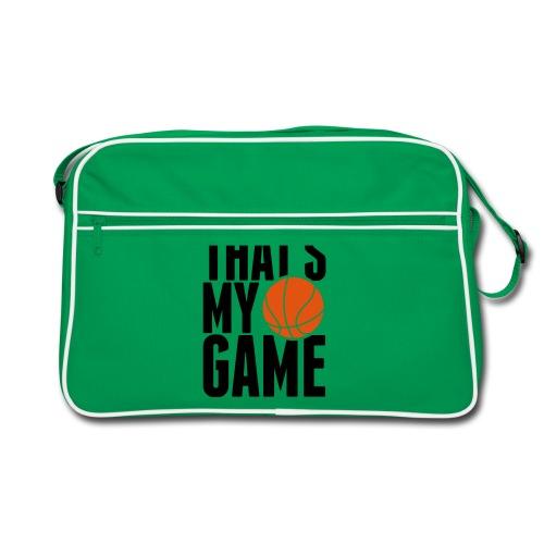 THAT'S MY GAME Retro bag ( GREY ) - Retro Bag