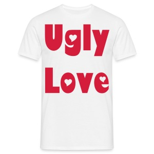 Ugly Love (front and back) - Men's T-Shirt