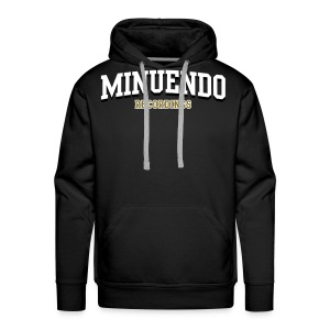 Men's Premium Hoodie - Minuendo,Recordings