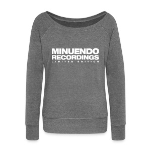 Minuendo Ltd. woman. sweatshirts without hood - Women's Boat Neck Long Sleeve Top