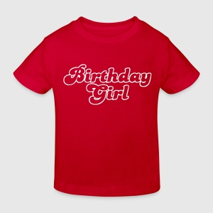 birthday girl T-shirts - Ekologisk T-shirt barn