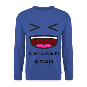 Men's chickenadam blue sweatshirt - Men's Sweatshirt