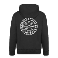 Pullover & Hoodies ~ Männer Premium Kapuzenjacke ~ Kapuzen Sweatshirt - schwarz XXL