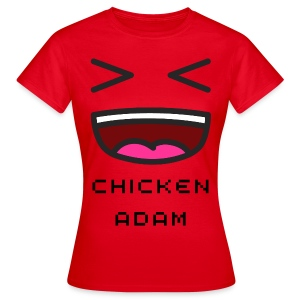 Women's chickenadam red t-shirt - Women's T-Shirt