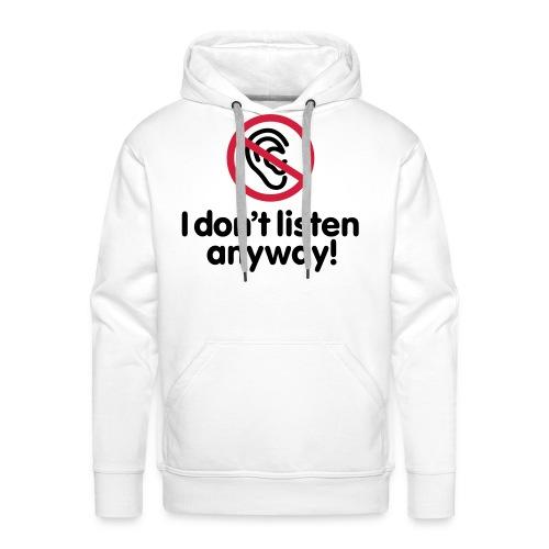 PuberSweater - Mannen Premium hoodie