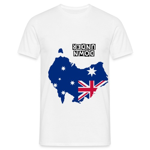 dOWN uNDER - Men's T-Shirt